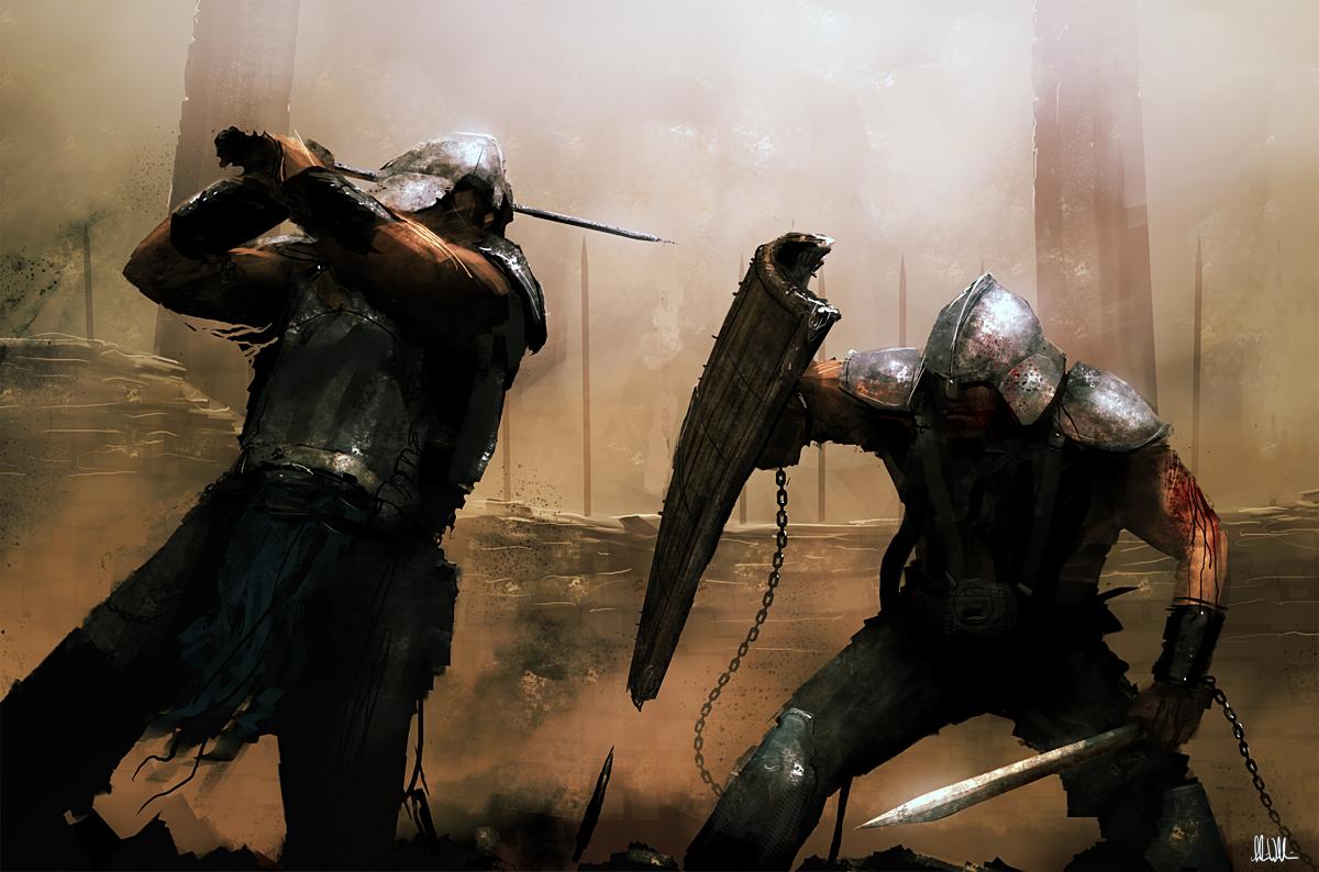Gladiators_by_AndreeWallin