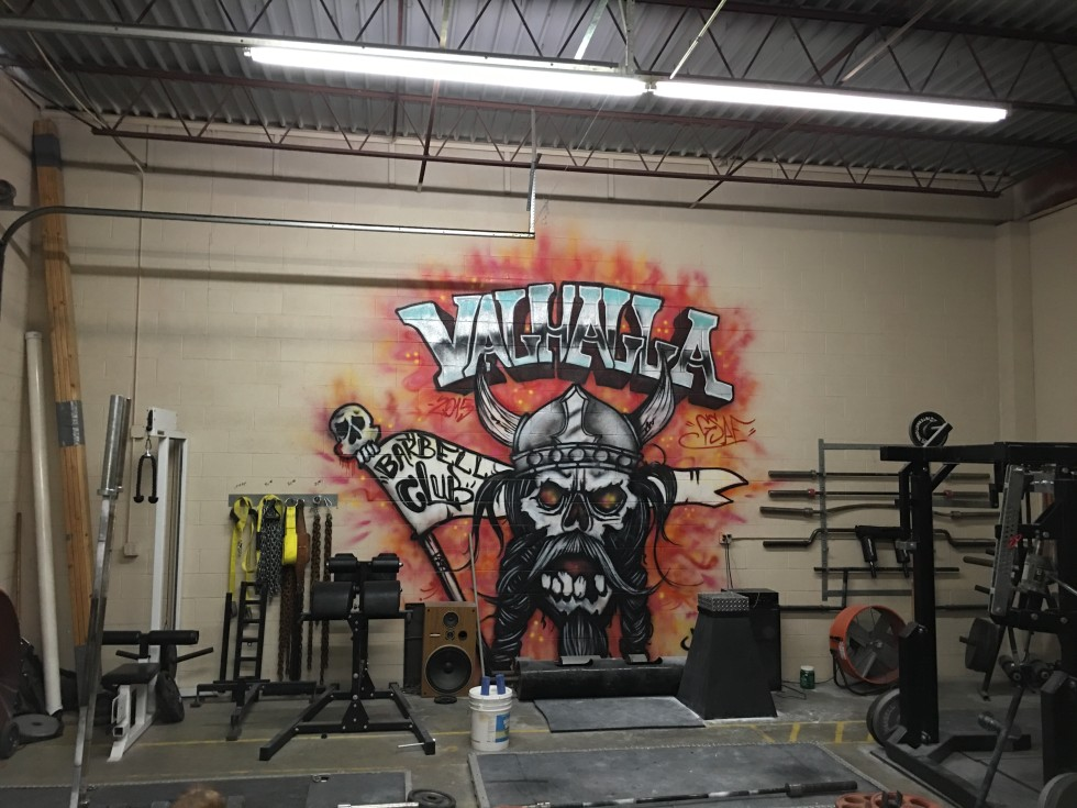 Welcome to valhalla: building a barbell club